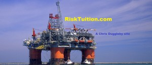Chris Dugglebys 'free-of-charge' Risk Education website (Thunder horse platform photo courtesy of BP p.l.c.)