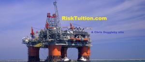 Chris Dugglebys 'free-of-charge' Risk Education website (Thunder horse platform photo courtesy of BP p.l.c.)