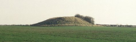 Duggleby Howe, Large Round Barrow or Ancient Burial Mound, Yorkshire, England