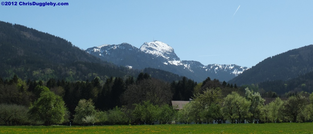 Alpine View in April