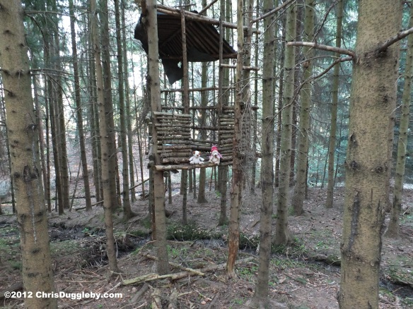 Vali Umm and RISKKO finish building their tree house