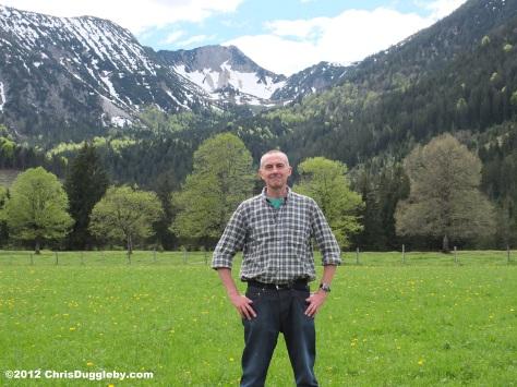 Off the Deutsche Alpen Strasse near Bayrischzell: Spring Mountain View
