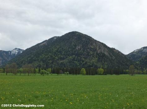 Off the Deutsche Alpen Strasse near Bayrischzell: Spring Mountain View 2