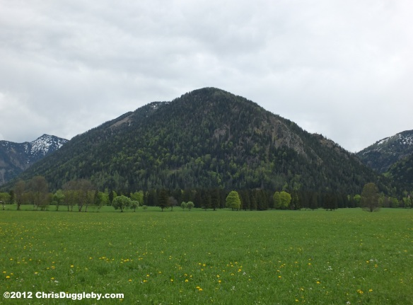 Off the Deutsche Alpen Strasse near Bayrischzell: Spring Mountain View 2