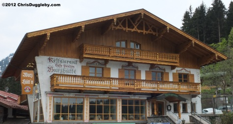 Wurzhütte Restaurant on the Spitzingsee