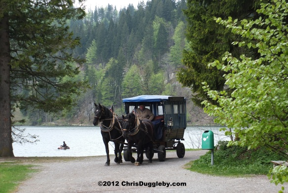 Spitzingsee by Horse and Carriage