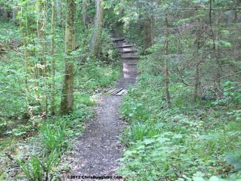Start on the Armen Seelenweg