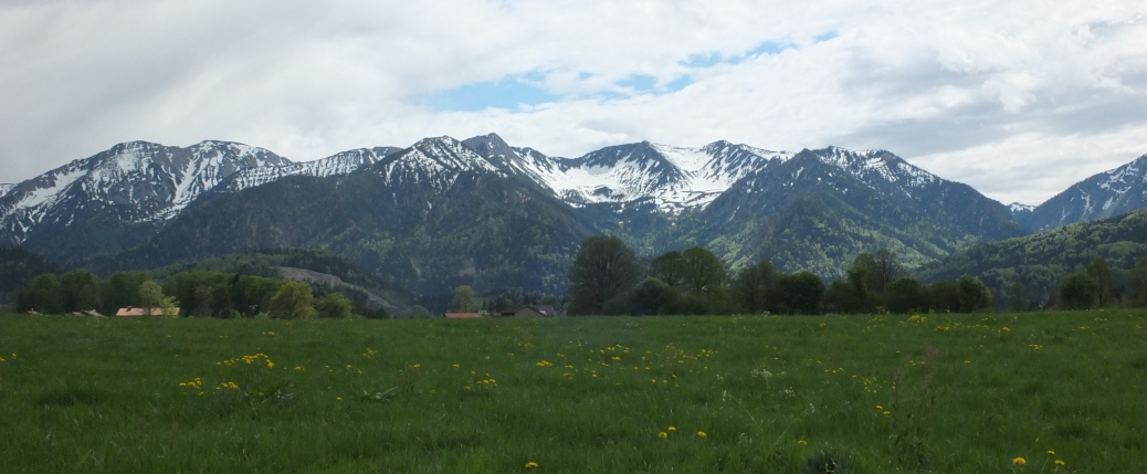 Spring Mountains from the German Alpine Way