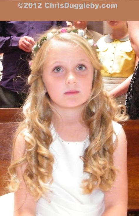 Today a bridesmaid, tomorrow a princess!