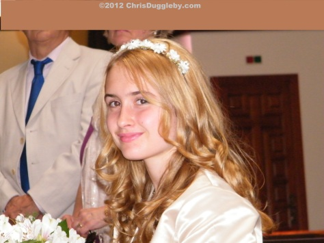 The senior princess representing the next generation of Dugglebys in Spain