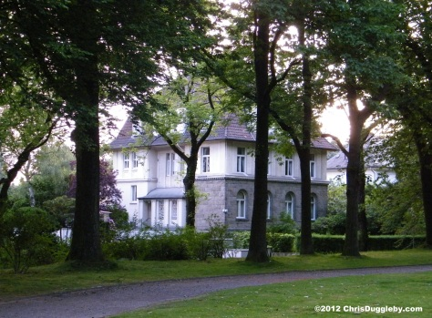 Houses of nobility overlooking Bochum Stadtpark: F