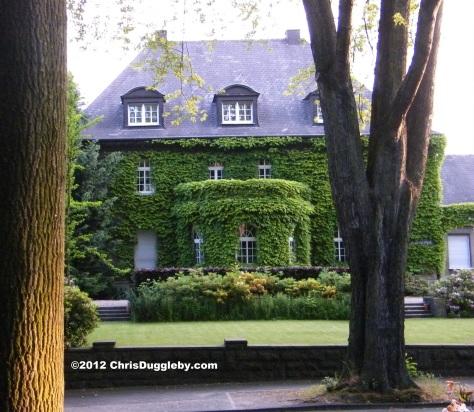 Houses of nobility overlooking Bochum Stadtpark: G