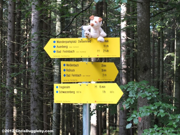 Directions to Bad Feilnbach, Schwarzenberg, Weißenbach and Tregleralm