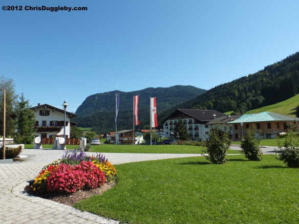 2012 Village Scene in the Austrian Tyrol