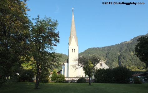 St Margareth's Church at Bayrischzell with its frescos, early Baroque features and fine 18th century Rococo art