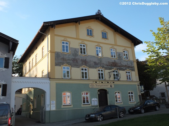 Many of the Neubeuern buildings have interesting frescos