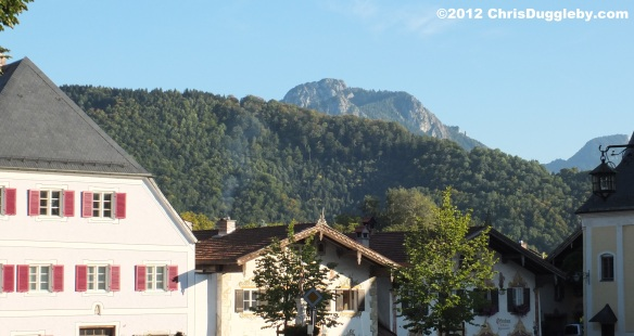 Take a look at the Alpine backdrop: In 1981 Neubeuern was elected as Germany's most beautiful village