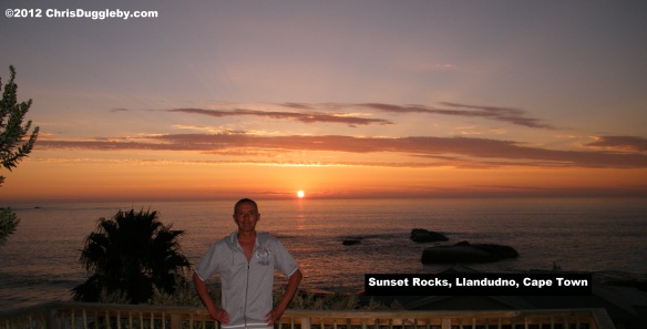 Chris Duggleby at Sunset Rocks, Llandudno, Cape Town
