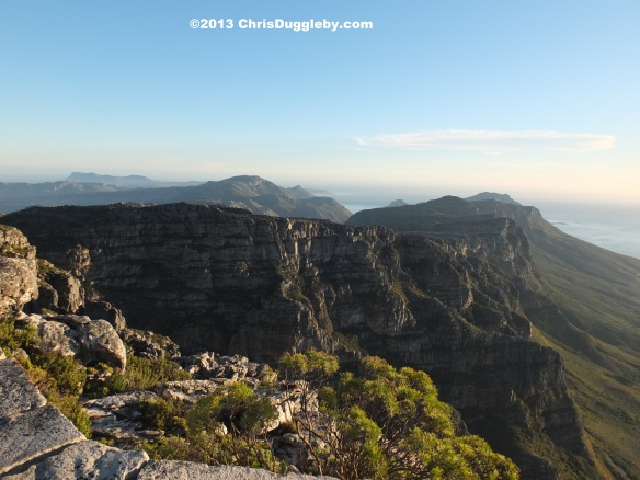 The views from the top of Table Mountain are exhilarating