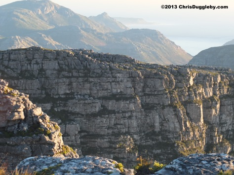 Some mountain top views from Table Mountain