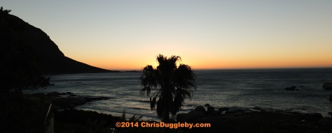 Farewell to 2013 from Sunset Rocks!
