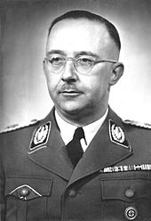 Heinrich Himmler Founder of the Deutches Ahnenerbe Research Organisation (Photo courtesy of Wikipedia)