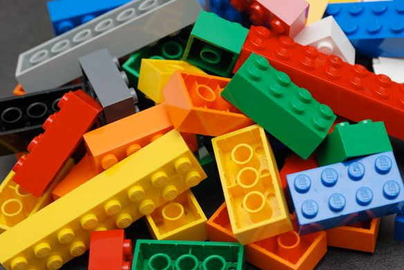 Lego Bricks (Wikimedia Commons license - acknowledgements to Alan Chia)