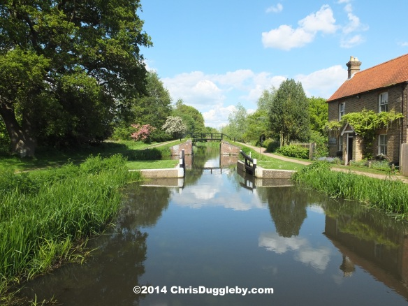 River Wey Passing Walsham Cottage