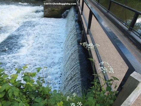 Weir Near Walsham Lock Cottage