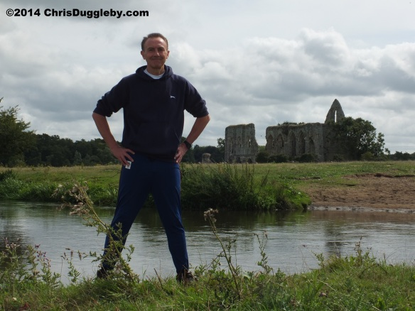 Chris Duggleby during TRANSFORMATES Photoshoot at Newark Priory