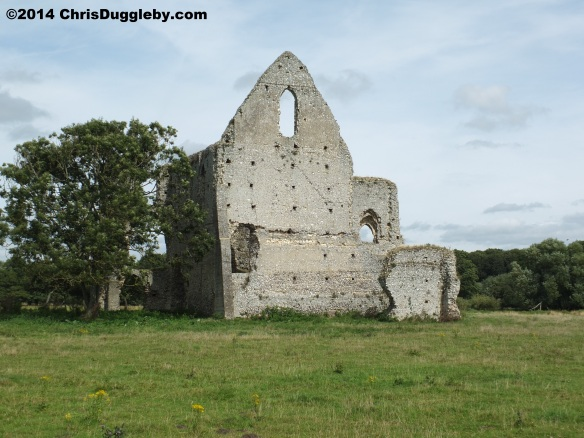 Newark Augustinian Priory Perspective 2