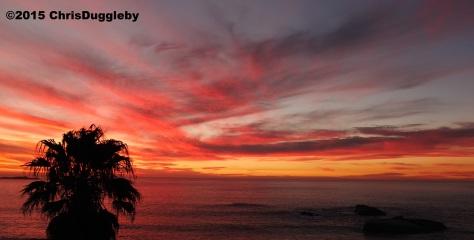 1 Sunset at Sunset Rocks (Llandudno, near Cape Town) taken by Chris Duggleby