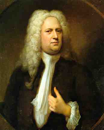 George Frideric Handel 1685-1759 who inspired Chris Duggleby's interpretation of the Hallelujah Chorus from the Messiah