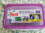 Suspect 3: Unilever Persil Colour Capsules 2 Top of box