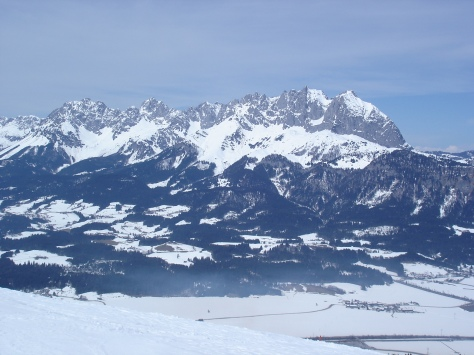 Austrian Kaiser Mountains from the South from Chris Dugglebys