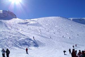 Austrian Zillertal Glacier