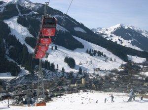 Kohlmaisbahn Skilift at Saalbach-Hinterglemm