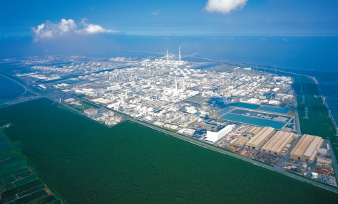 Mai Liao 'Island' Taiwan where the Formosa BP Chemicals JV was situated (photo courtesy of Formosa Group)