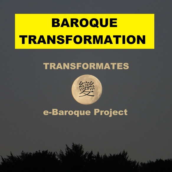 Transformates - Baroque Transformation (Album Cover) - for release during August 2015