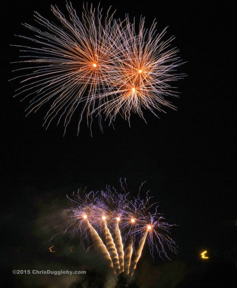 1 Guy Fawkes Celebration Fireworks - 2015