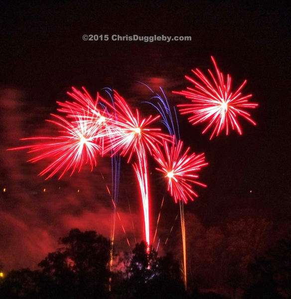 2 Woking Guy Fawkes Celebration Fireworks- 2015