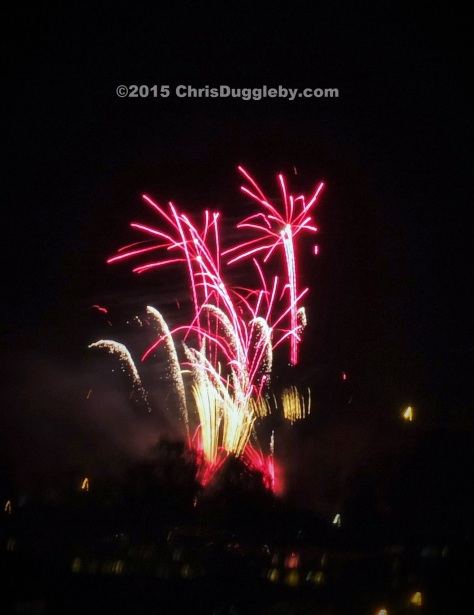 3 Woking Surrey UK 2015 Guy Fawkes Night Fireworks taken from Centrium Building by Chris Duggleby DSCF0641 (2)
