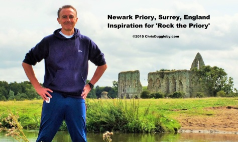 Newark Priory near Woking, Surrey, - Inspiration for 'Rock the Priory' by Chris Dugglebys TRANSFORMATES 變 Music Project