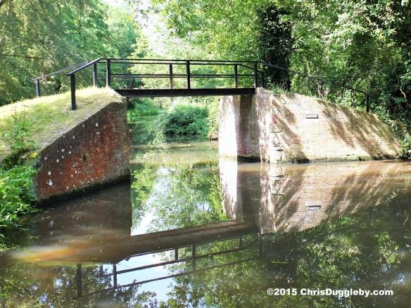 Pigeon House Bridge 1763) on the Wey Navigation Waterways