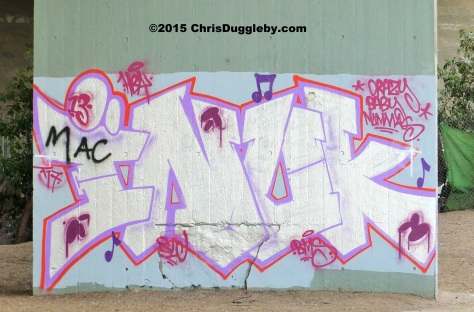 Street Art 1 on the M25