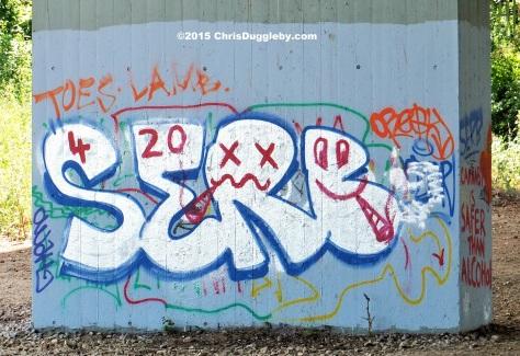 Street Art 5 on the M25