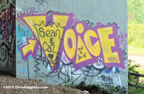 Street Art 6 on the M25