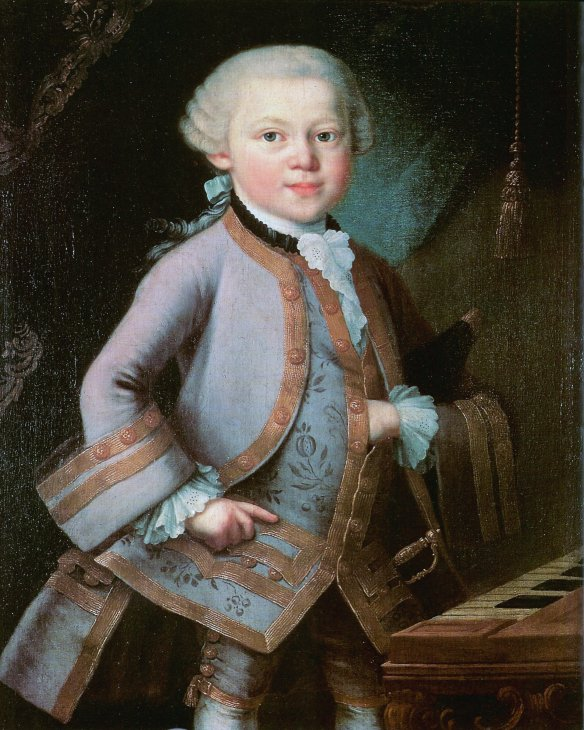 Wolfgang Amadeus Mozart 1756 - 1791 from Chris Dugglebys festive article on Vatican Crime