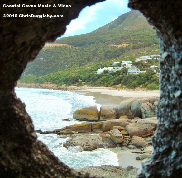 Cave View of Llandudno Beach