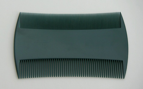 A Traditional Nit Comb used before the development of the German Nit-Zapper (Plasma Comb)